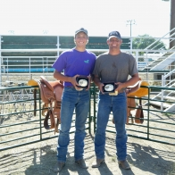 Caption: Incentive Winners - Chase and Eric Oliver