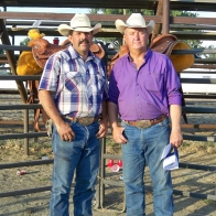 Caption: Mark Sherbenske and Pab Good - 8 winners
