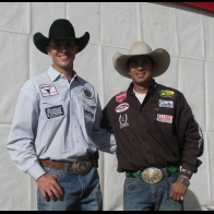 Caption: Brock Hanson and Cesar DeLaCruz - Open Champions