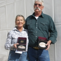 Caption: Linda and Bruce Teague - 10 Gold Plus Champions