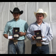 Caption: Dallas Chavez and Jacob Auza - 9 Champions