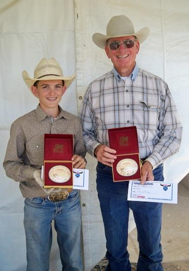 The Gold Buckle Ustrc Roping